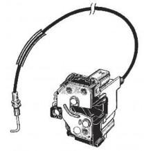 FIAT 500 07-15 RIGHT DOOR LOCK (4pins) - PASSENGER  SIDE