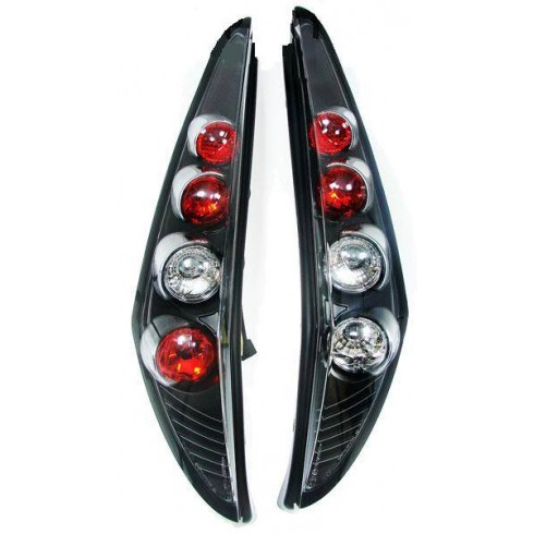 FIAT PUNTO 99-03 TAILLIGHT  LEXUS BLACK - SET
