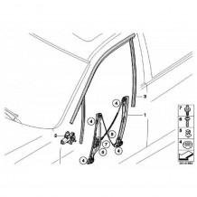 FORD FIESTA 2008-12  3DOOR FRONT DRIVER LEFT ELECTRIC WINDOW REGULATOR WITHOUT/MOTOR