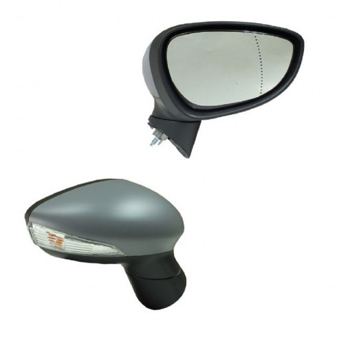 FORD FIESTA 13-17 ELECTRIC MIRROR - PASSENGER SIDE