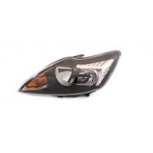 FORD FOCUS 08-11 BLACK HEADLIGHT - DRIVER SIDE
