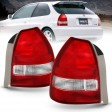 HONDA CIVIC 1996-1999 TAILLIGHT REAR/CLEAR