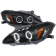 HONDA S2000 00-2003 AP1 ANGEL EYES HEADLIGHT BLACK