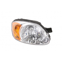 HYUNDAI ACCENT H/B-L/B 03-05 HEADLIGHT - PASSENGER SIDE