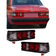MERCEDES 190E '82-'93 RED/CLEAR