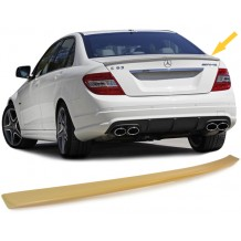 MERCEDES W204 '07-ON REAR LIP SPOILER C63 LOOK