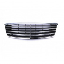 MERCEDES S CLASS (W220) 2002-05 FRONT CENTRAL GRILLE