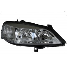 OPEL ASTRA G 98-04 CHROME HEADLIGHT - PASSENGER SIDE