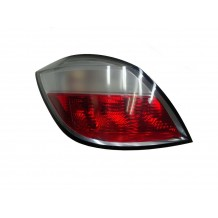 OPEL ASTRA H 2004-2006 TAILLIGHT RED/WHITE - DRIVER SIDE