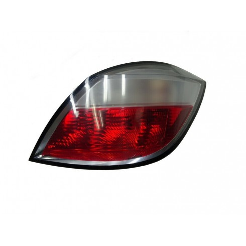 OPEL ASTRA H 2004-2006 TAILLIGHT RED/WHITE - PASSENGER SIDE