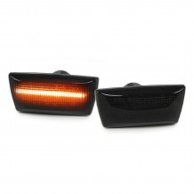 OPEL ASTRA,CORSA,INSIGNIA,ZAFIRA DYNAMIC LED LIGHTBAR SIDEMARKERS SMOKE/BLACK