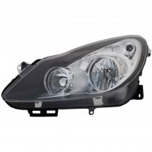 OPEL CORSA D 06-10  HEADLIGHT - DRIVER SIDE