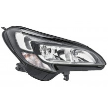 OPEL CORSA E 15-19 HEADLIGHT - PASSENGER SIDE