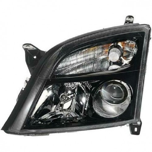OPEL VECTRA C 02-05 BLACK HEADLIGHT - DRIVER SIDE