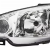 PEUGEOT 206 2003-06 HEADLIGHT (H7-H7 BULB) - DRIVER SIDE