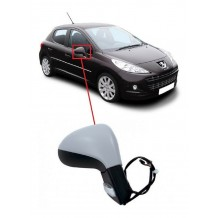 PEUGEOT 207 06-14 ELECTRIC HEATED MIRROR - PASSENGER  SIDE