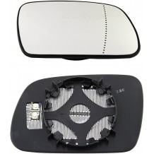 PEUGEOT 307 2001-07 ELECTRIC HEATED MIRROR GLASS - PASSENGER SIDE