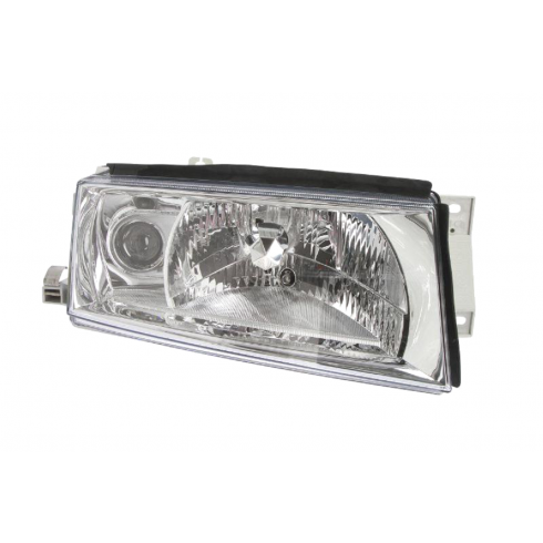 SKODA OCTAVIA 4 2000-10 HEADLIGHT WITH ELECTRIC MOTOR - PASSENGER SIDE