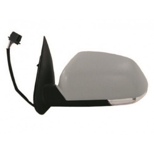 SKODA OCTAVIA 5 04-08 ELECTRIC HEATED MIRROR - DRIVER SIDE