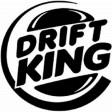 """""""DRIFT KING"""" STICKER - WHITE"""