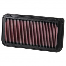 TOYOTA COROLLA 2001-07 AIR FILTER  K&N 33-2252 (289mm x 149mm)