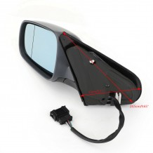 VW GOLF IV 98-04  ELECTRIC HEATED MIRROR - DRIVER SIDE