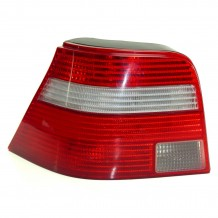 VW GOLF IV 98-04  TAILLIGHT RED-CLEAR - DRIVER SIDE