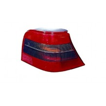 VW GOLF IV 98-04 TAILLIGHT RED-SMOKE - PASSENGER SIDE