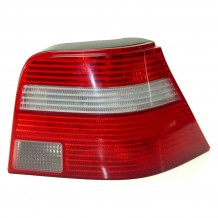VW GOLF IV 98-04 TAILLIGHT RED-CLEAR - PASSENGER SIDE