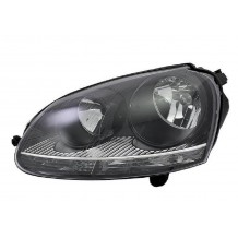 VW GOLF 5 - JETTA 04-08 HEADLIGHT BLACK GTI - DRIVER SIDE
