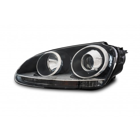 VW GOLF 5 '03-'08 HID XENON HEADLIGHT RIGHT - BLACK