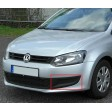 VW POLO 09-14 FRONT BUMPER FOG GRILLE - DRIVER SIDE